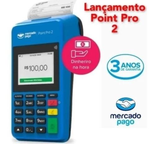 Maquininha De Cartão Do Mercado Pago Point Pro 2 Gertec Mp35