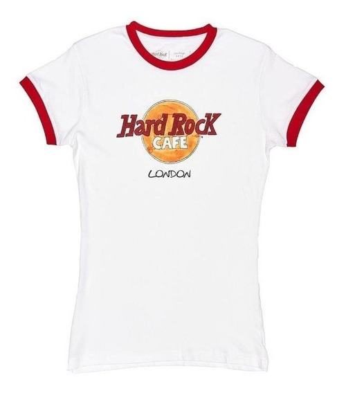 Camiseta Feminina Hard Rock Cafe London