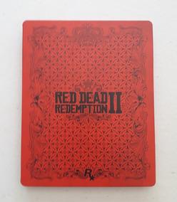 Case Metal - Steelbook Red Dead Redemption 2 - Sem O Jogo