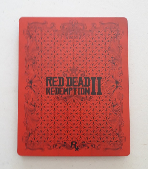 Case Metal - Steelbook Red Dead Redemption 2 - Sem O Jogo