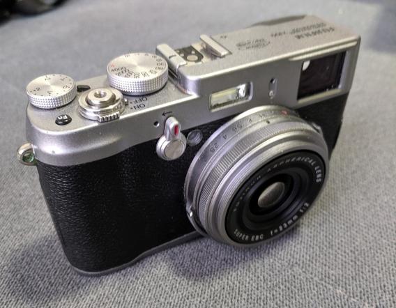 Câmera Fuji X100 Vintage Digital Com Acessórios
