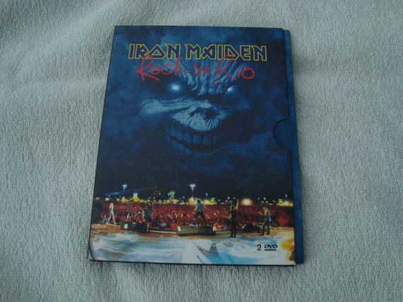 Iron Maiden Rock In Rio Deluxe 2 Dvd Made In Usa