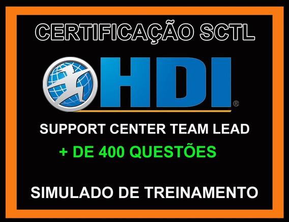 Simulado Hdi Sctl (+ De 400 Questões)