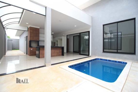 Casa À Venda Cond. Gaivota Ii 201m², 4 Vgs, 3 Suítes, Rio Preto - V5347