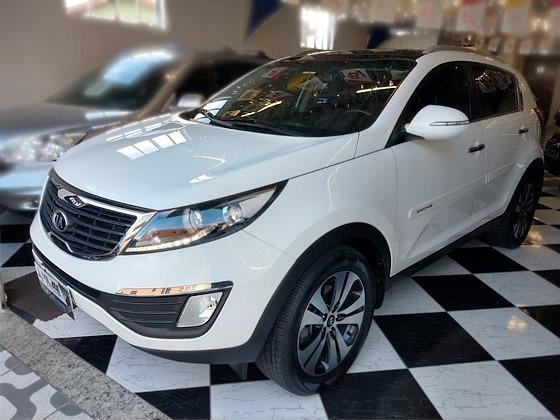 Kia Sportage Ex2 2014 ***teto Solar E Banco De Couro***