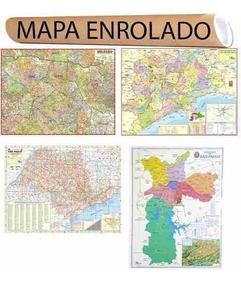 4 Mapa São Paulo Estado Centro Grande Sp Cidade - Combo