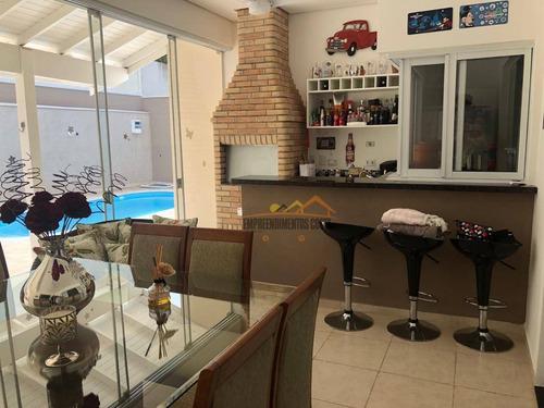 Casa Com 3 Dormitórios À Venda Por R$ 900.000,00 - Condominio Fazenda Palmeiras Imperiais - Salto/sp - Ca1610