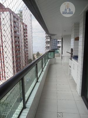 Apartamento Residencial À Venda, Canto Do Forte, Praia Grande. - Ap1758