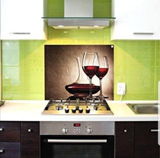 Vidrio Templado Decorativo P/ Cocinas 60x65 Cm Kitchen Glass