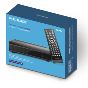Conversor E Gravador Digital De Tv Re219 Multilaser Cx 1 Un