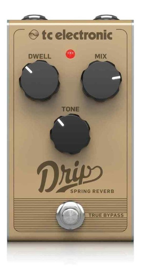 Pedal Para Guitarra Drip Spring Reverb - Tc Electronic