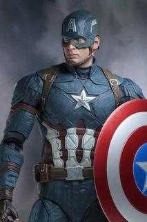 Preventa Civil War Capitán América 1/4 Escala