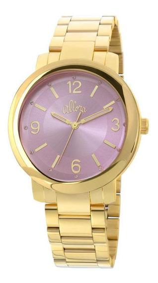 Relógio Allora Feminino Dourado - Al2035eyl/4g