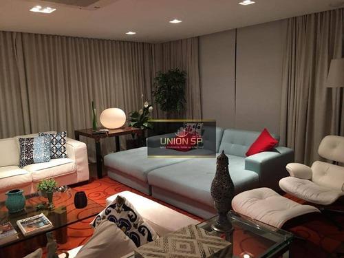 Apartamento Com 4 Dormitórios À Venda, 385 M² Por R$ 6.800.000,00 - Campo Belo - São Paulo/sp - Ap23319