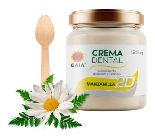 Crema Dental Natural Ecologica Manzanill - g a $174