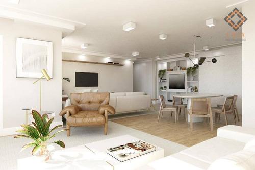 Apartamento Com 2 Dormitórios À Venda, 153 M² Por R$ 2.335.000 - Higienópolis - São Paulo/sp - Ap52367