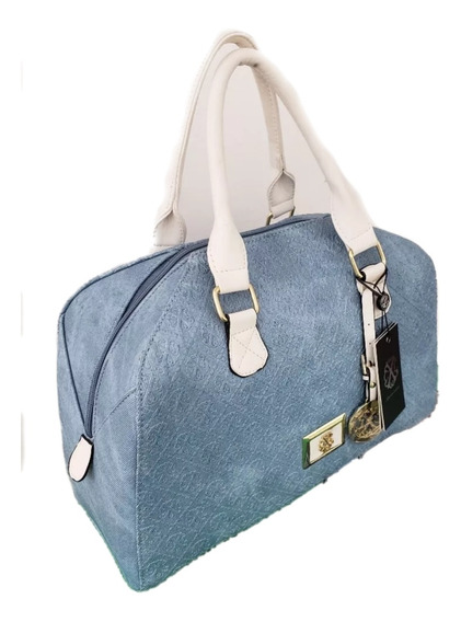 Bolsa Dama Marca By Christian Lacroix Original Light Denim