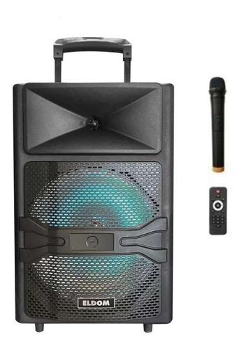 Parlante 12 Activo Bateria Bluetooth + Microfono Inalámbrico