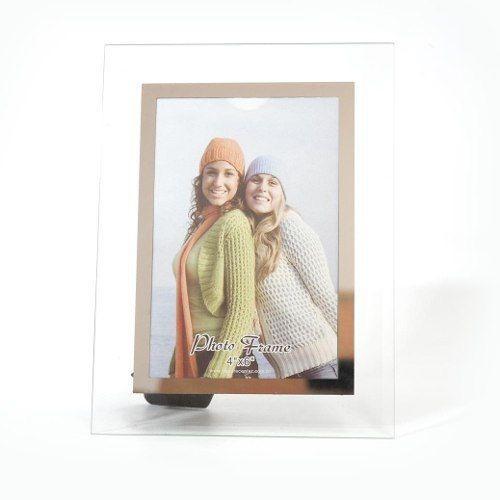 Porta Retrato 15x21 Vidro Square Trans. Pf-39-6