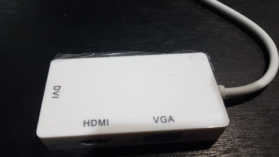 Convertidor Multiple Mini Display Port A Hdmi, Vga Y Dvi