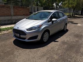 Ford Fiesta Sedean, 2014, Plata