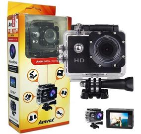Filmadora Hd 1080p Câmera Digital Esporte Capacete Mergulho
