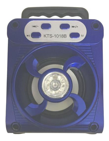 Caixa Som Bluetooth Radio Fm Portátil 5w Rms Celular Sd Usb