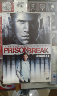 Prison Break - 1º Temporada Completa - Dvd Originales
