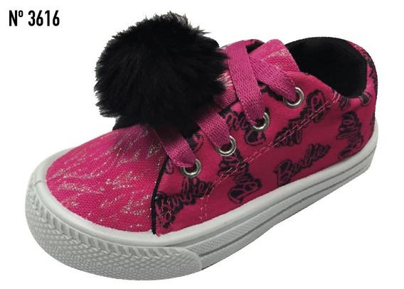 Zapatillas Para Niñas Barbie, Originales!!