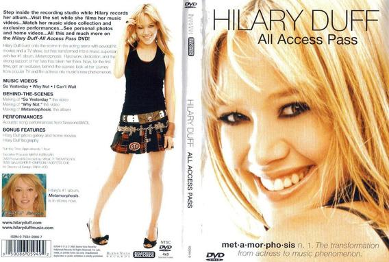 Dvd Hilary Duff All Access Pass En Stock Musicanoba