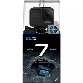 Gopro Hero 7 Black 12mp Wifi 4k + Cart. 64gb Extreme Pro V30