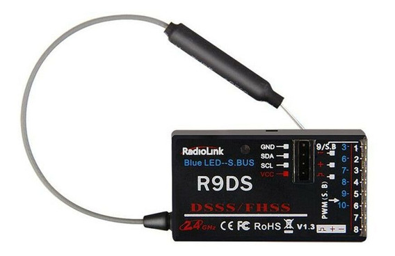 Receptor Radiolink R9ds 9 Channel