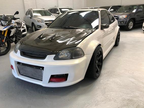 Honda, Civic Ex, Coupé, Turbo.