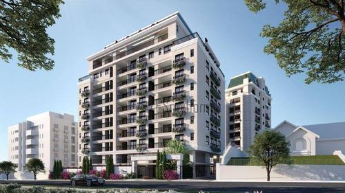Apartamento Com 3 Dormitórios À Venda, 106 M² Por R$ 1.307.200,00 - Alto Da Glória - Curitiba/pr - Ap3524