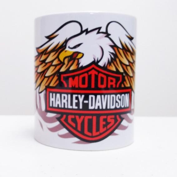Caneca Harley Davidson Aguia Branca 325 Ml