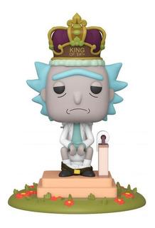 Figura Funko Pop Deluxe Rick & Morty - King Of $#!+ Con Soni