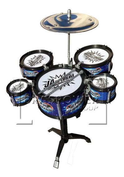 Mini Bateria Infantil 5 Tambores - Drum Fanatics Promoção
