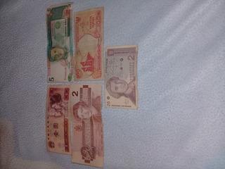 Monedas Papel Estrangeras Antiguas