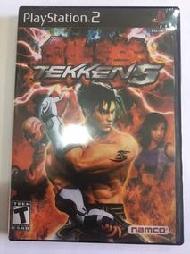 Tekken 5 Ps2 Original Capa-re-impressa Disco Orignal