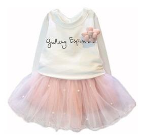 Vestidos Para Bebé Niña - Conjuntos Bebitas - Falda Tutu