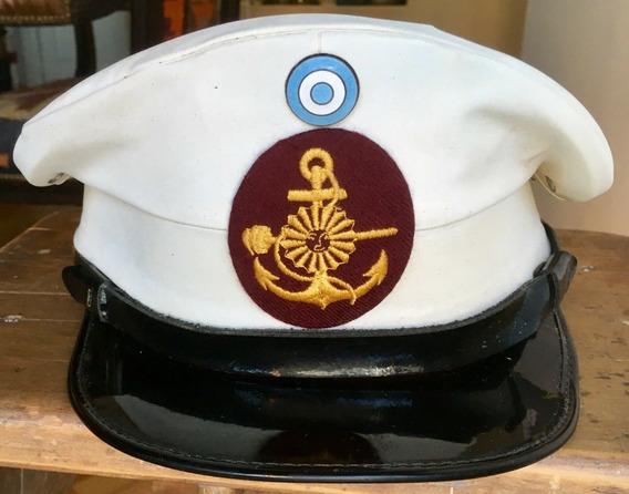 Gorra Original De La Infantería De Marina Armada Argentina