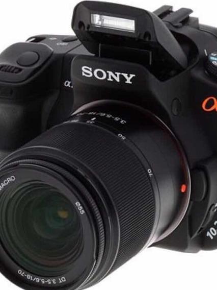 Câmera Sony Alpha A200 + Uma Lente Original Sony 75 - 300mm