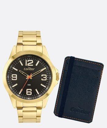 Relógio Condor Dourado Original!!