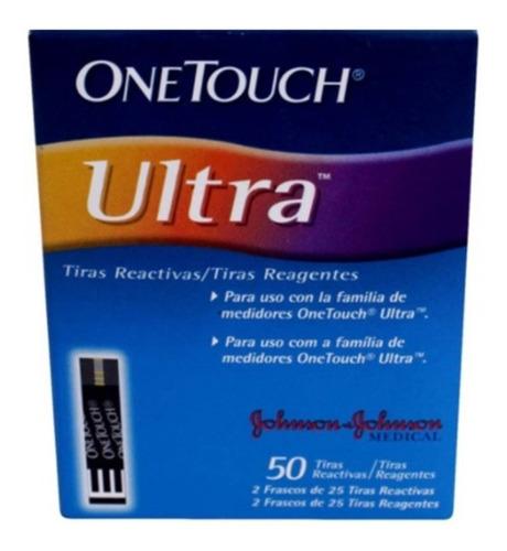 Repuestos Glucometro One Touch Ultra Mini X 50 U
