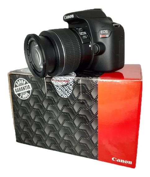 Câmera Canon Eos Rebel T7 18-55mm F/3.5-5.6 Is Il Seminova Lente C/ Estabilizador