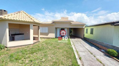 Casa Com 3 Dormitórios À Venda, 115 M² Por R$ 250.000,00 - Meta - Balneário Arroio Do Silva/sc - Ca2138