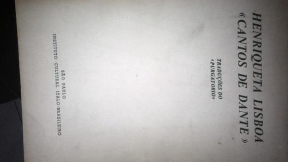 Livro - Literatura Estrangeira - Cantos De Dante: Traduções