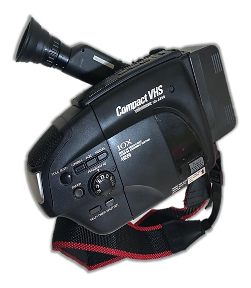 Filmadora Jvc Compact Vhs - Kit Completo Super Conservado