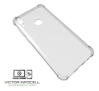 Capa Transp Zenfone Max Pro M1 Zb601kl/zb602kl Anti Impacto