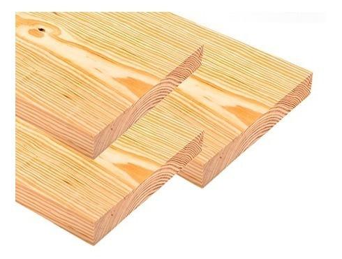 Tablas De Pino De 1era Seca Al Horno 3,60x25x2,5 Cano Woods